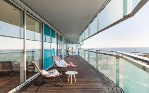 Precioso piso con vistas al mar en Diagonal Mar