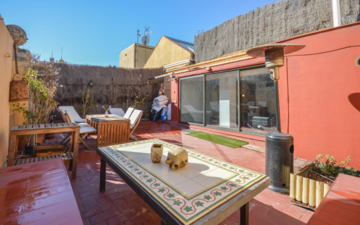 Ático con terraza Vía Laietana